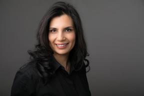 female corporate headshot NYC