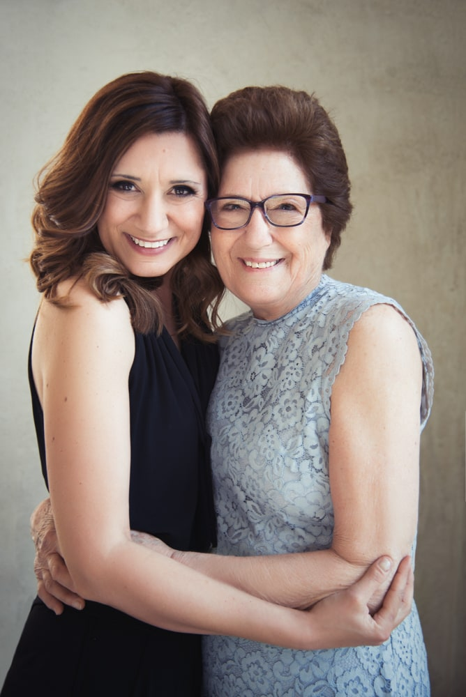 Paola and her mum