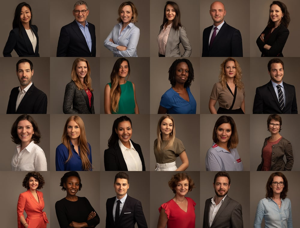 nice corporate headshots for employee