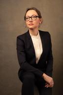 Women CEO headshot example