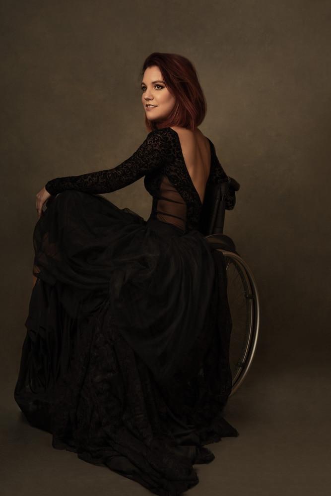 Magali Saby Dancer Wheelchair Portrait studio