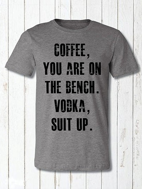 Coffee Your On The Bench