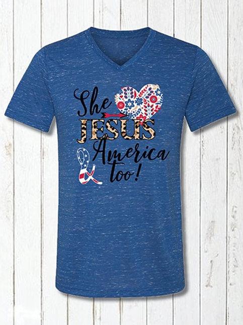 She Loves America