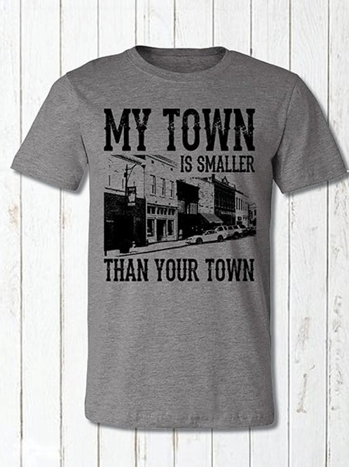 My Town is Smaller Than Your Towm