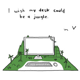 although... if you think about it... jungles are full of bugs.