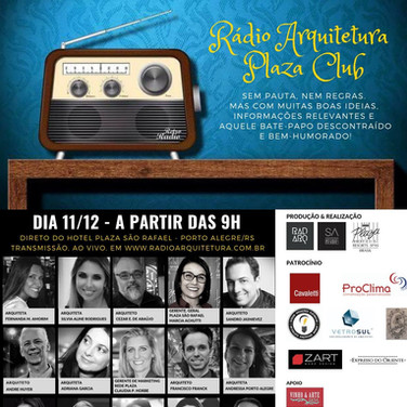 RÁDIO ARQUITETURA PLAZA CLUB - PORTO ALEGRE