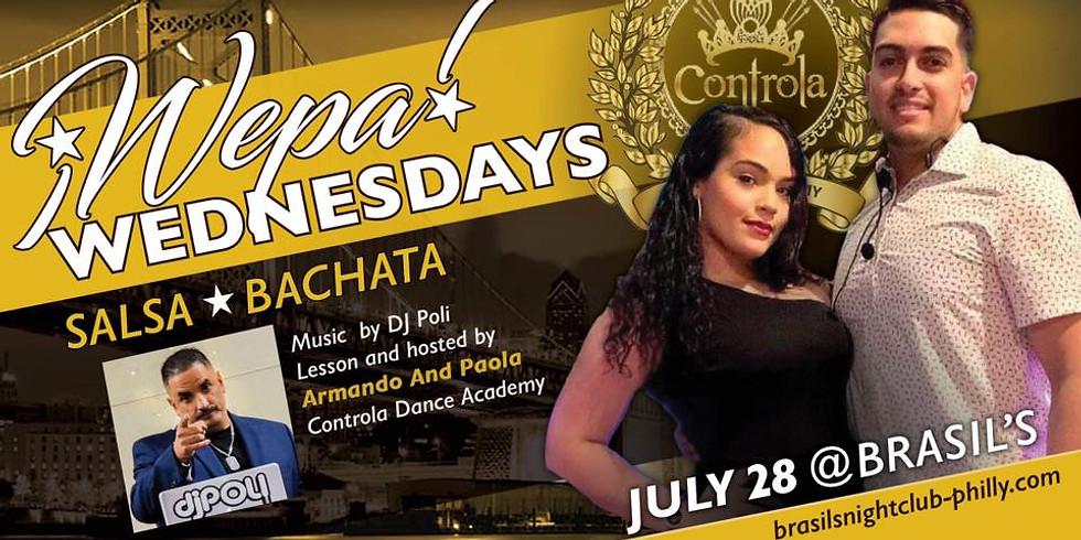 Wepa Wednesday's @ Brasils Controla Night