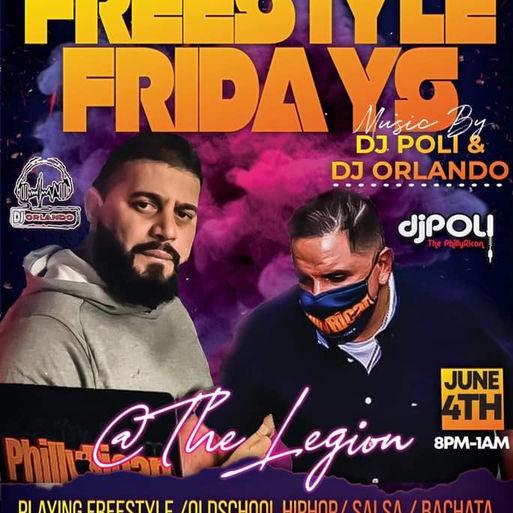 Freestyle @ The Legion With Dj Poli and Dj Orlando