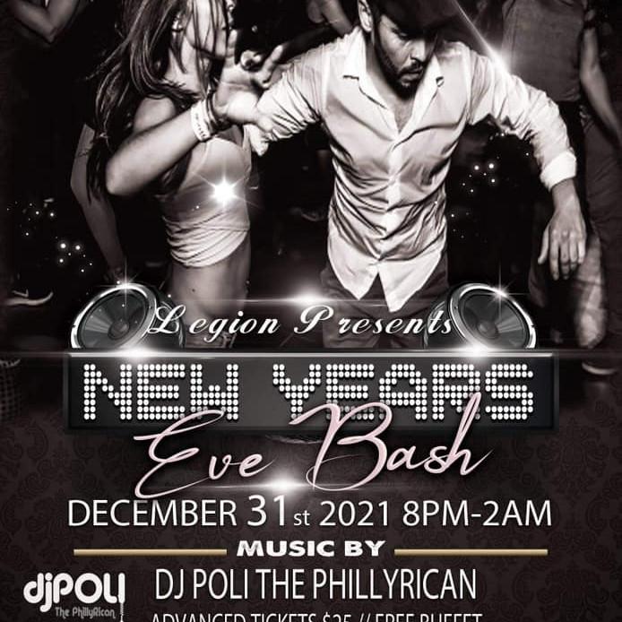 "The Legion and DJ Poli Presents ""Black & White"" NYE Bash"