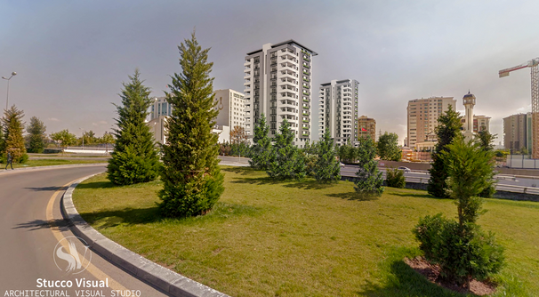 StuccoVisual - Ankara, Beştepe Residential
