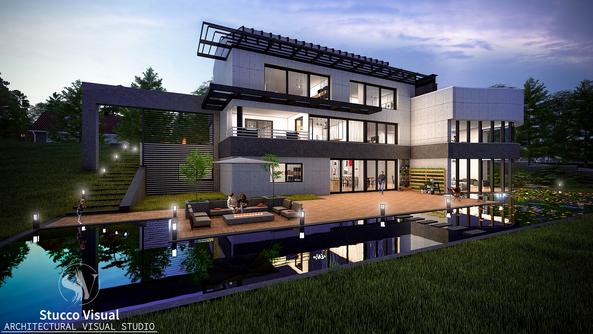 StuccoVisual - Modern Villa Project
