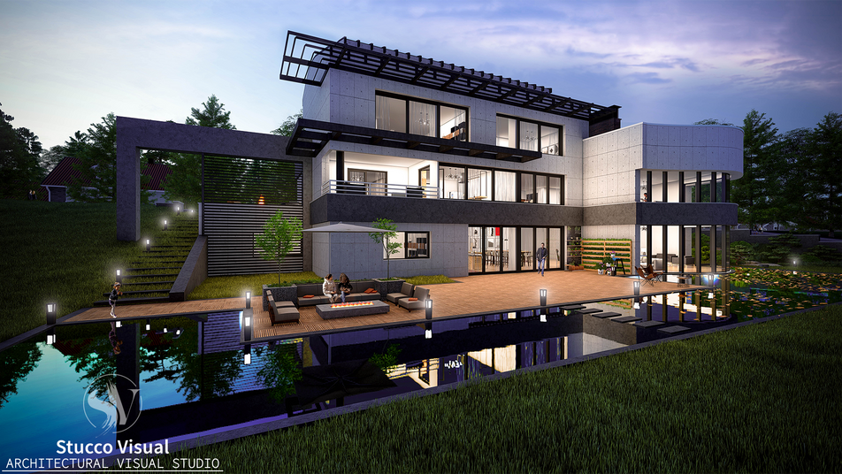 StuccoVisual - Modern Villa Project