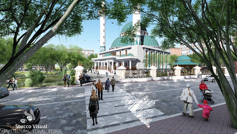 StuccoVisual - Diyarbakır, Kayapınar - Ali ELBEY Mosque