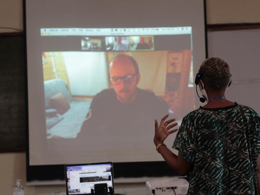 Freetown Film Labs with the British Council
