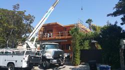 Newly built single family homes