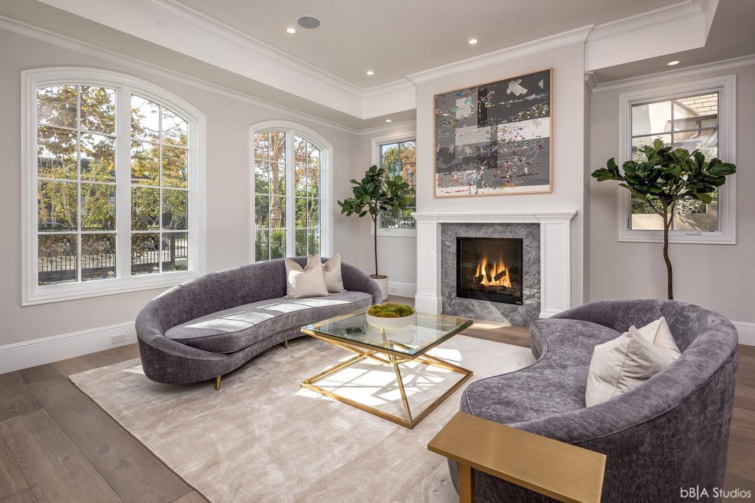 Angled View of Living Room