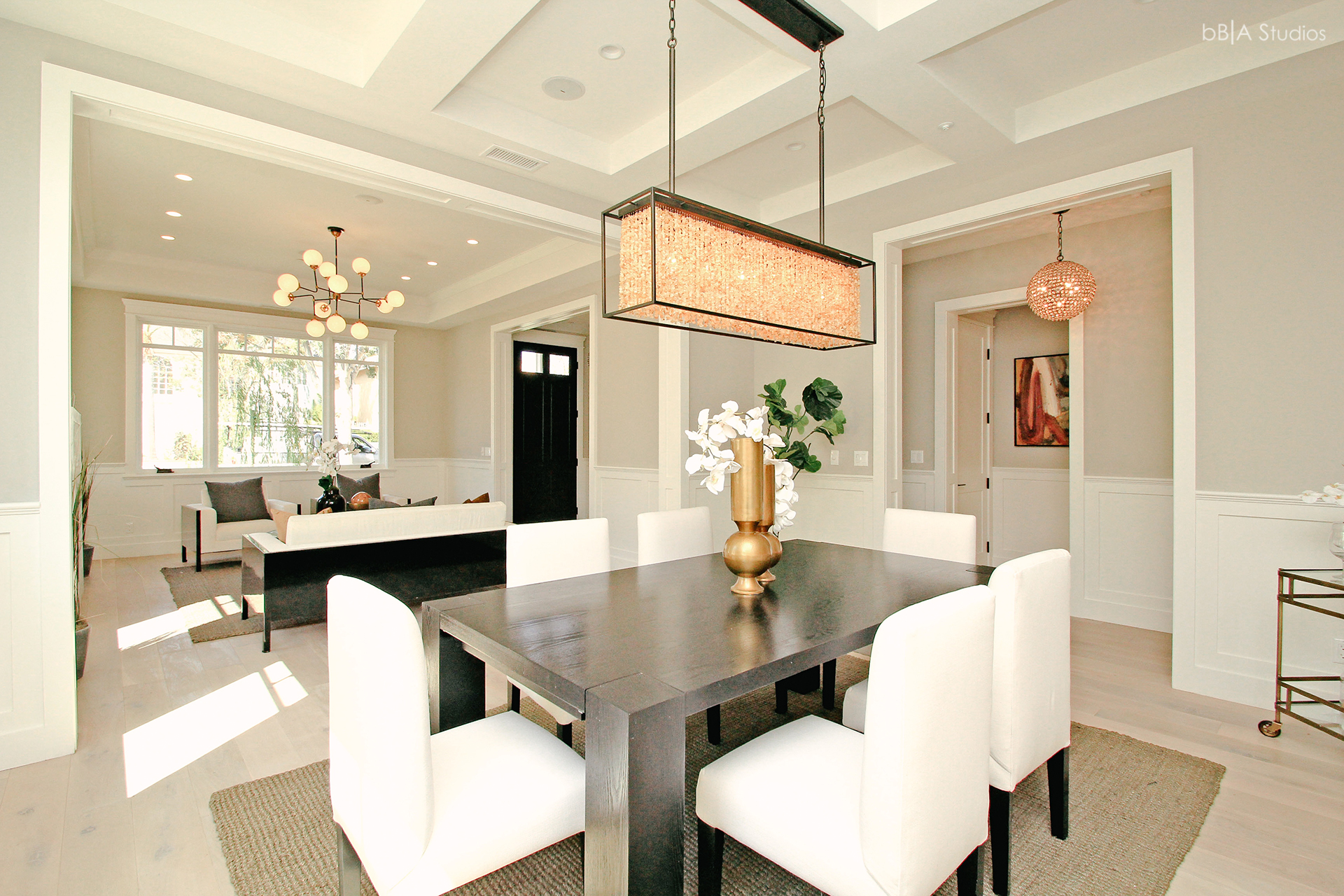 Dining room of cape cod home