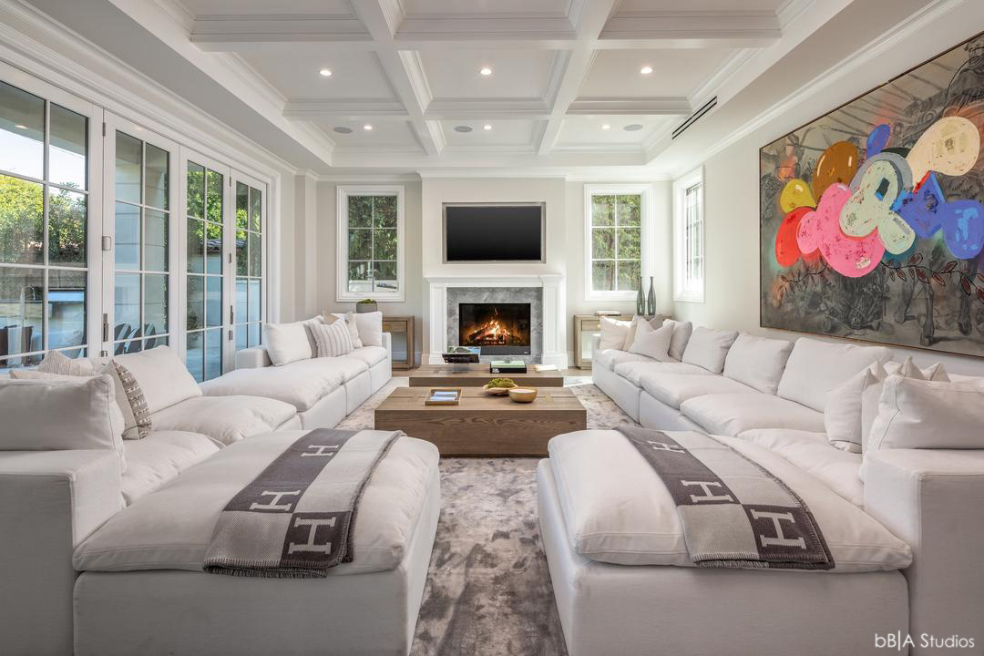 Fireplace View Sitting Area