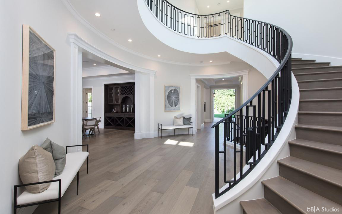 Winding Staircase Design Build