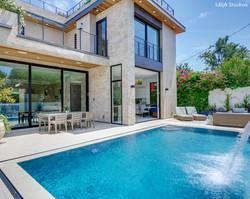 Backyard Pool and Fountain