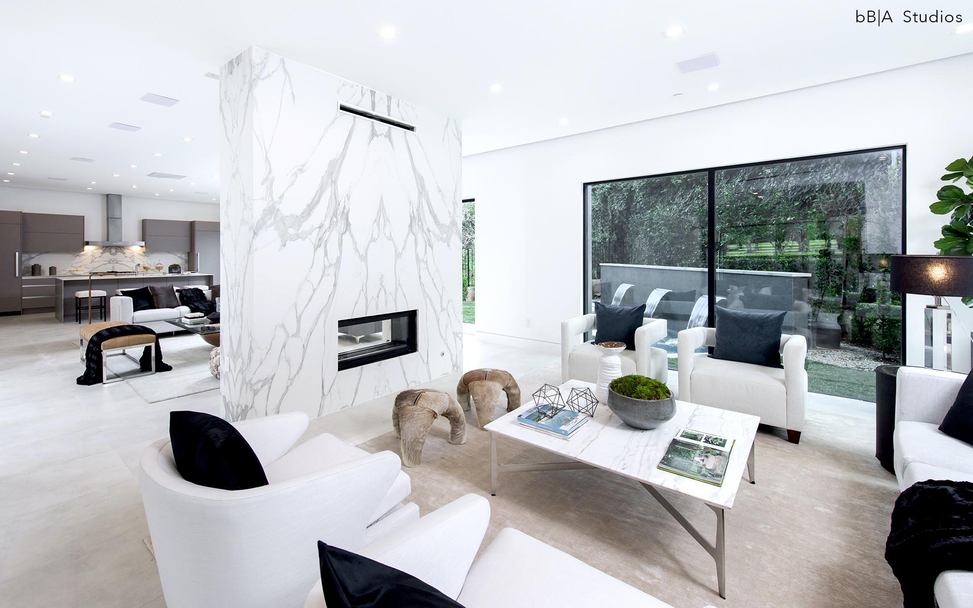 Open Formal Living Room