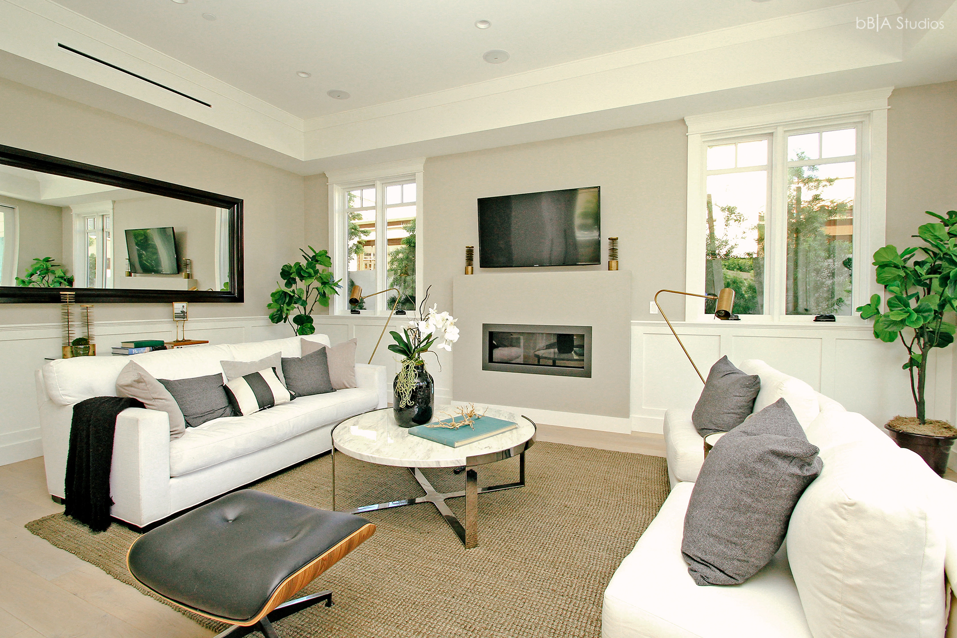 Cape Cod home living room
