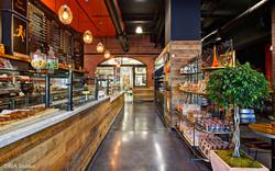 Rustic Contemporary Cafe