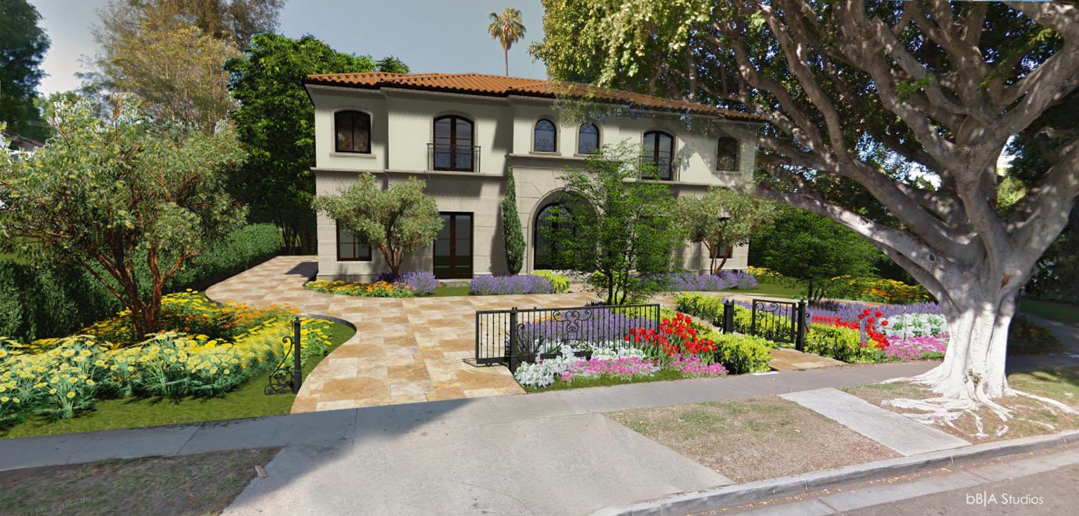 Mediterranean home in Los Angeles