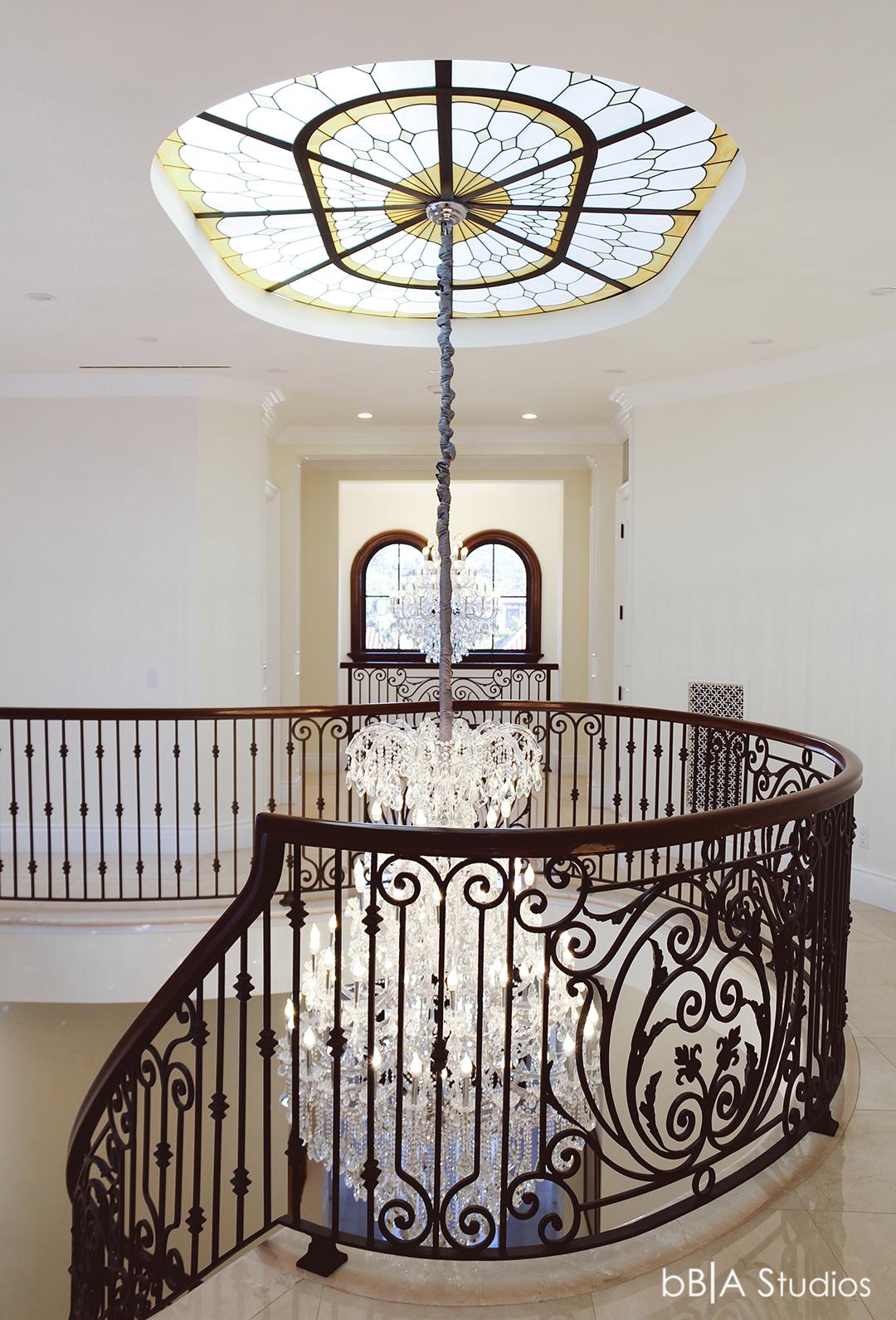 Main atrium dream home