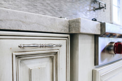Counter top detail marble