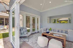 Pool House Sitting Area