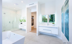 His and Hers Modern Bathroom
