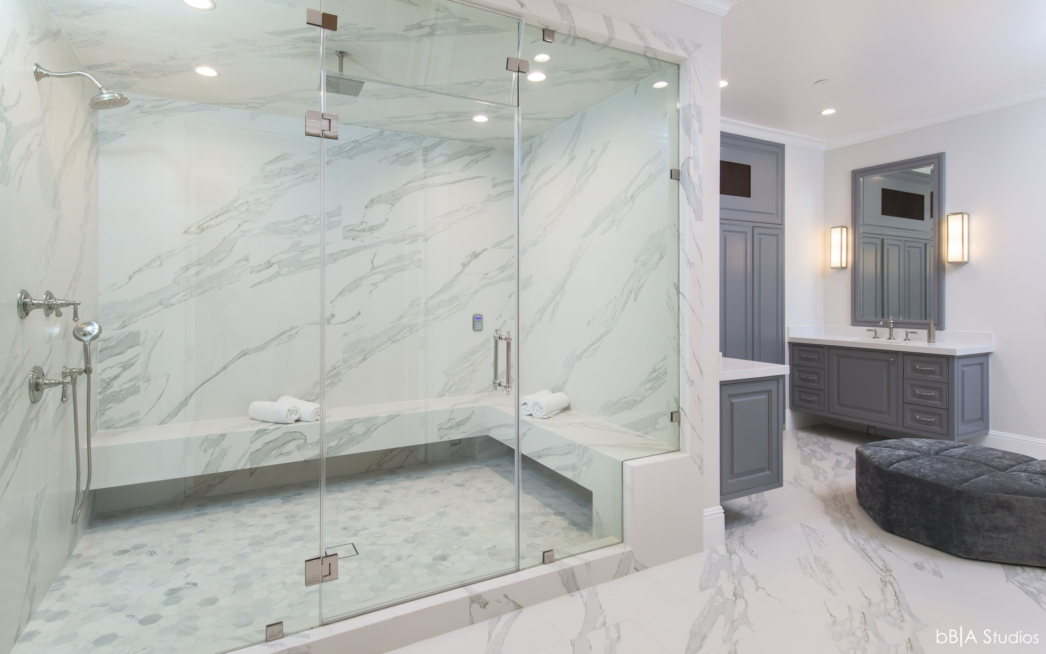 Marble Detail of Shower