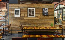 Rustic Interior Café