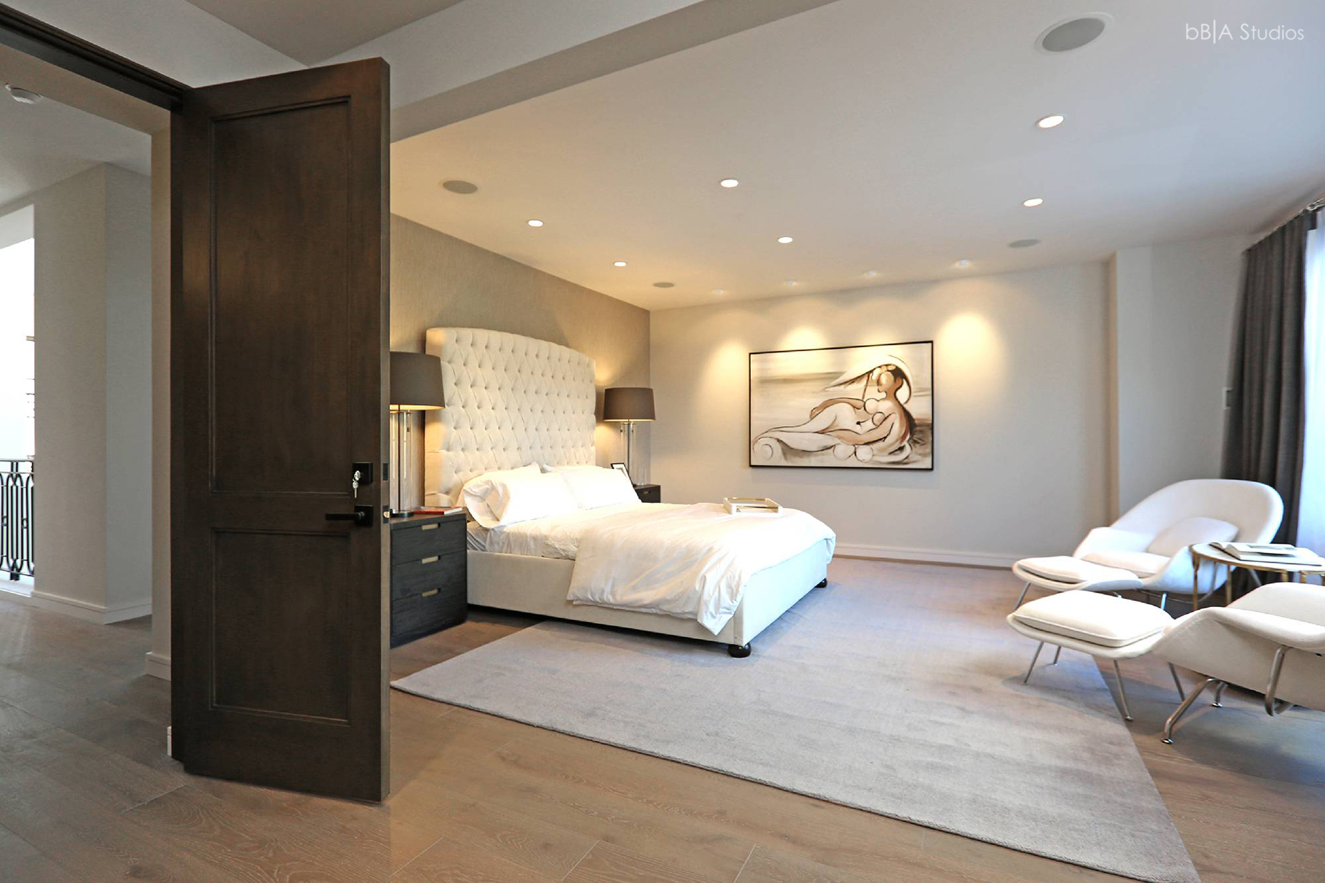 Master bedroom architecture