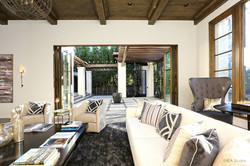Spanish detail living room