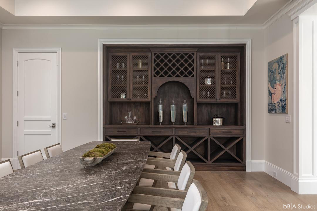 Wine Cellar and Dining Room