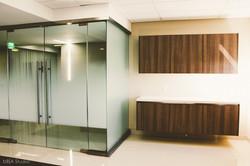 Modern Office Glass Panels
