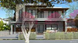 Indoor Outdoor Architect Rendering