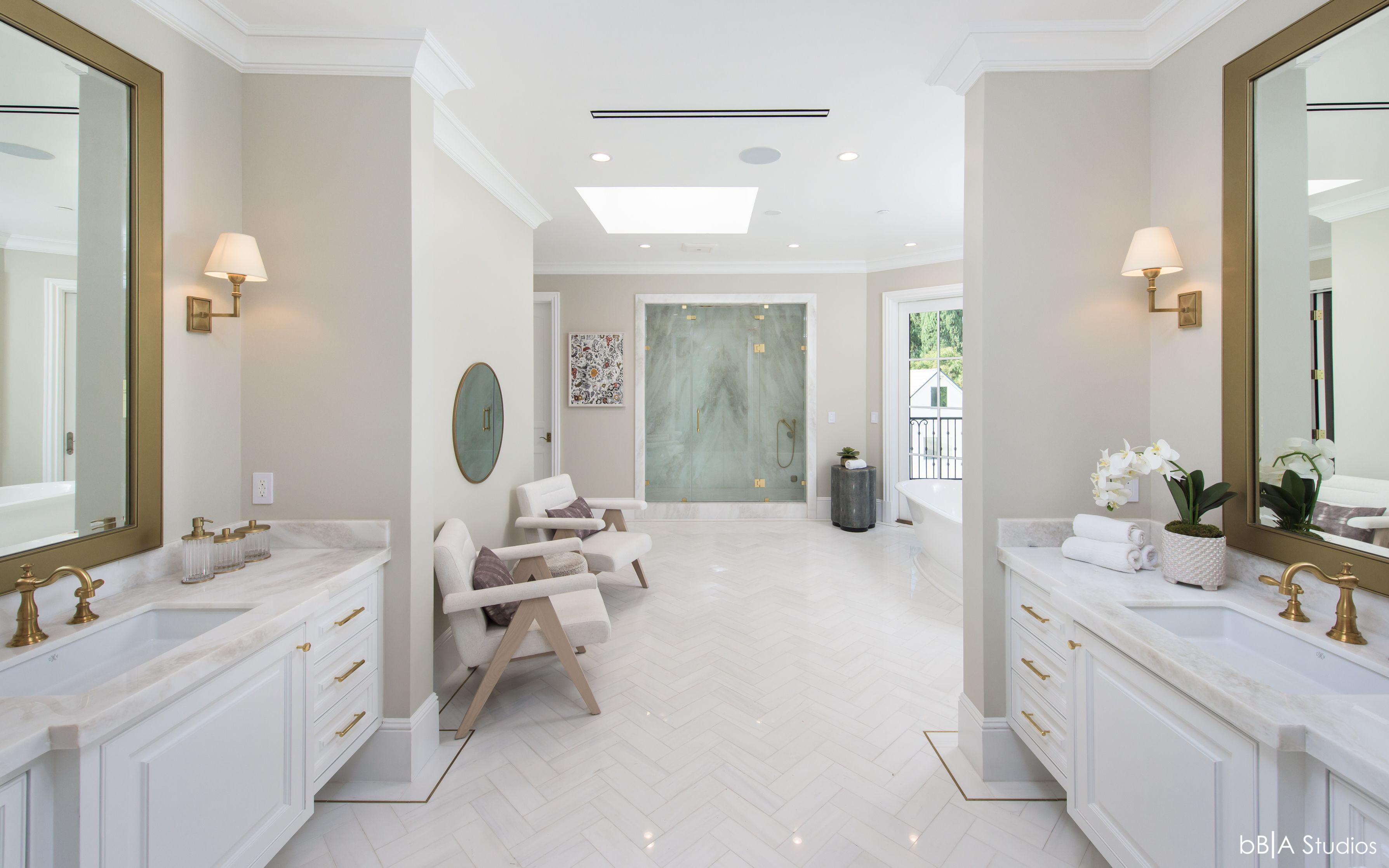 Spa Bathroom Architecture and Design