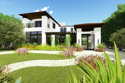 Spanish luxury home design