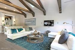 Family Room Spanish Estate
