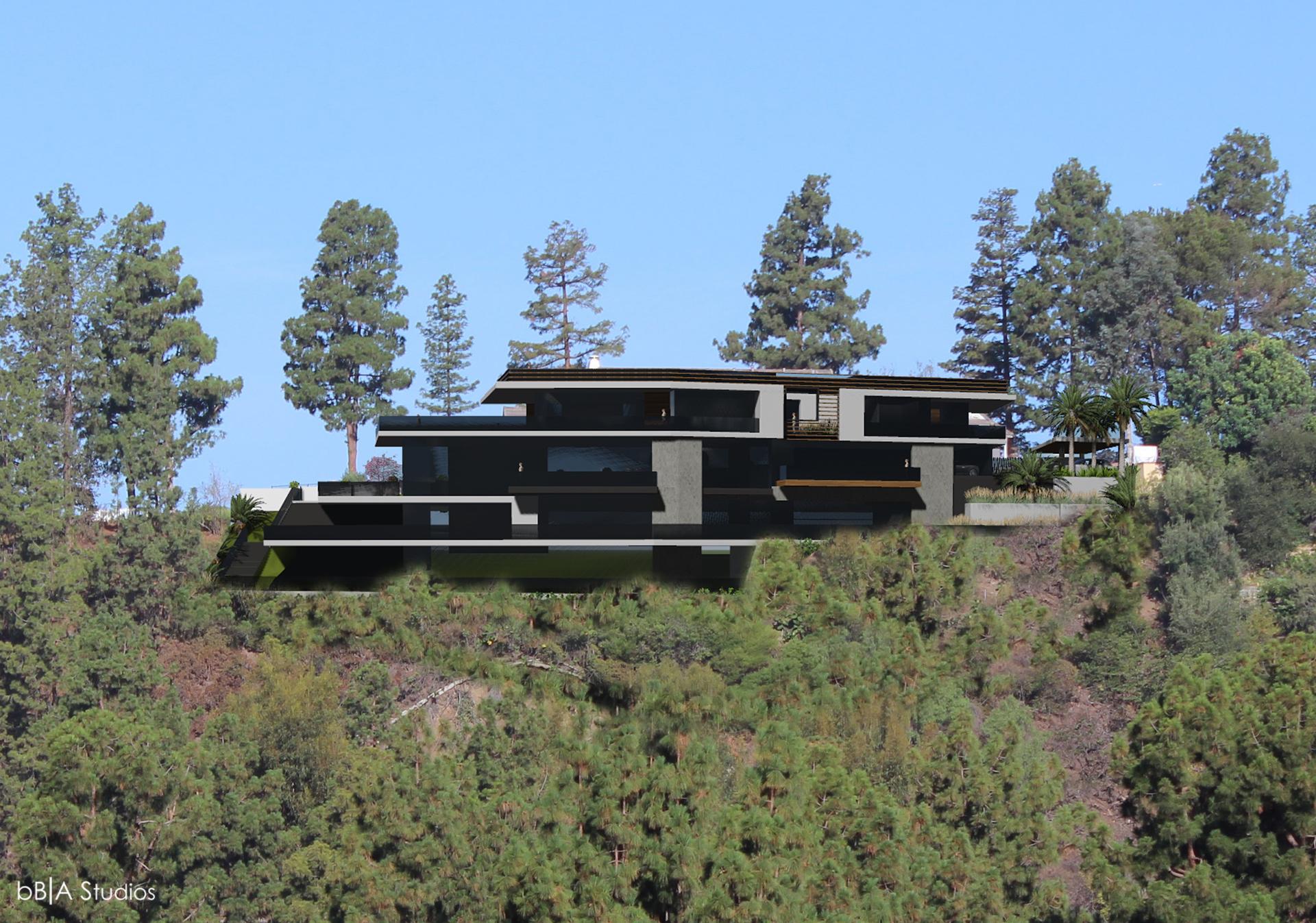 Modern House Rendering