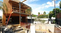 On site construction visit