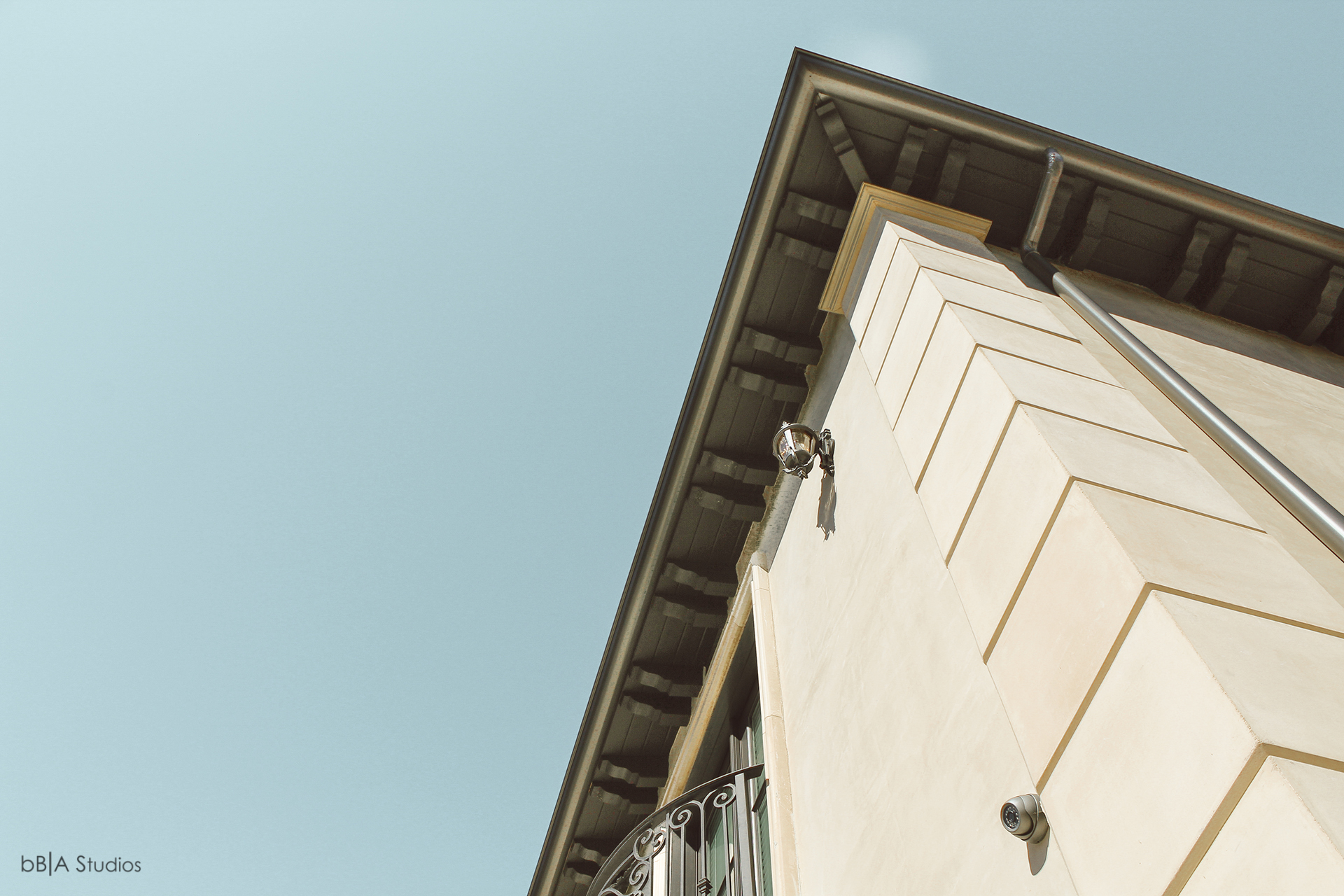 Roof and awning detail