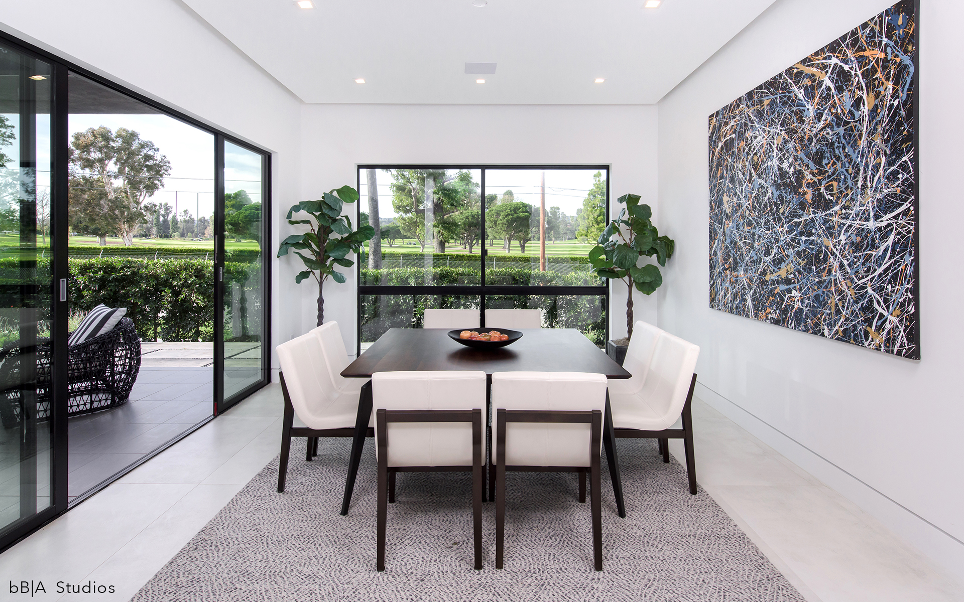 Dining Nook with Outdoor View