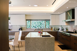 Kitchen remodel from architectural f