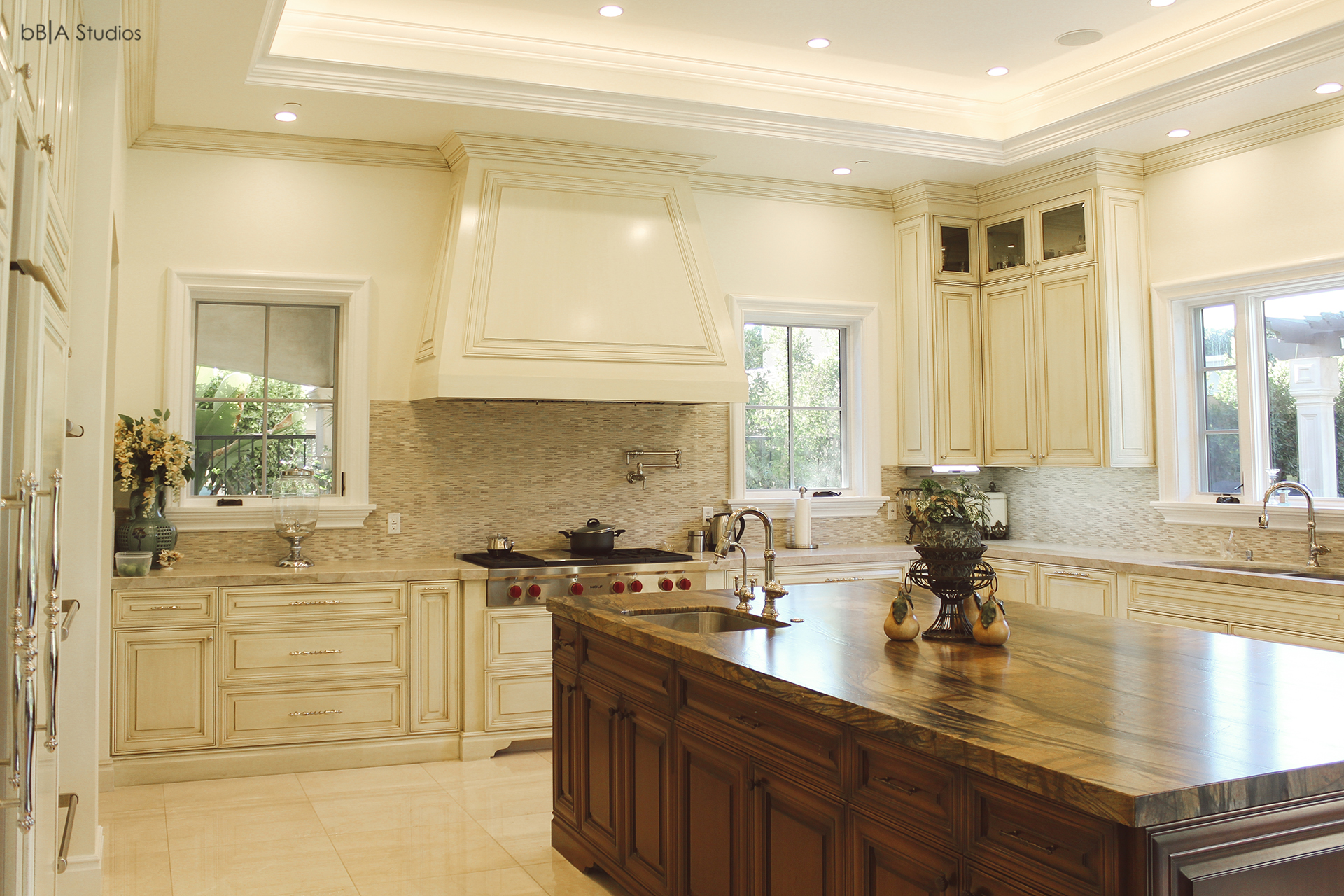 Kitchen view of luxury home