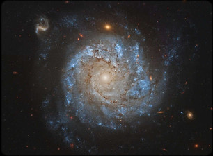 NGC 1309: Spiral Galaxy and Friends.