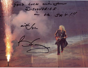 Greetings from Brian May